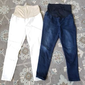 Maternity Jeans lot size 8